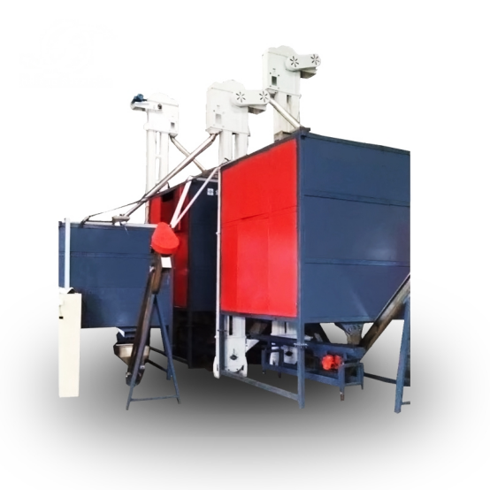 Silicon rubber separator machine