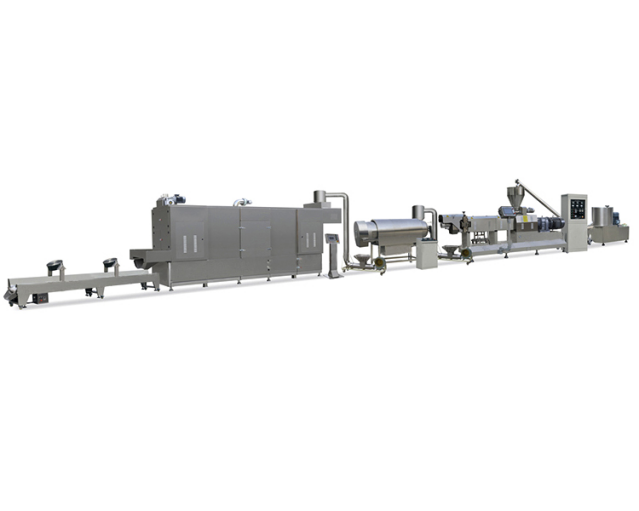 Twin screw extruder machine for fortified rice machine
